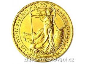 Investiční zlatá mince Britannia 1/2 Oz