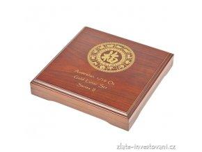2582 darkova etuje na set zlatych minci 12x 1 10 oz lunarniho kalendare ii