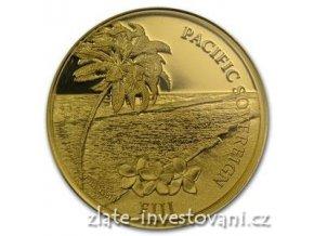 2870 investicni zlata mince pacificky sovereign novy zeland 2012