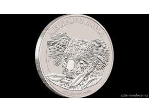 Investiční stříbrná mince Koala 2014 1 Kg