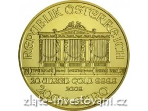 3032 investicni zlata mince rakousky philharmoniker 2009 20 oz