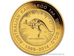 3041 investicni zlata mince australsky nugget 25 vyroci 1 oz