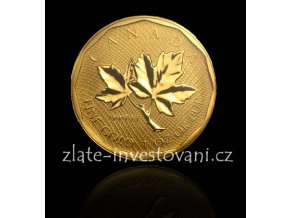 Investiční zlatá mince kanadský Maple Leaf 2008 1 Oz