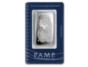 Investiční stříbrný slitek PAMP Fortuna 50g