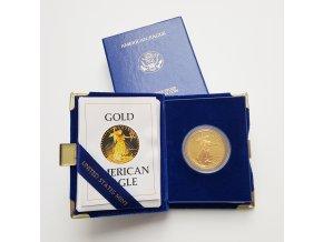 Zlatá mince americký Eagle proof 1 Oz