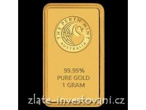 Investiční zlatý slitek Australský Kangaroo-1 g