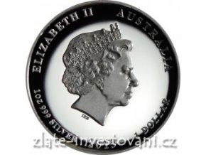 Stříbrná mince rok Kozy 2015- 1 oz proof