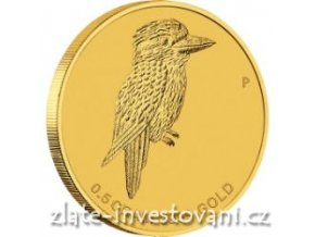 3494 investicni zlata mince australsky kokaburra 2014