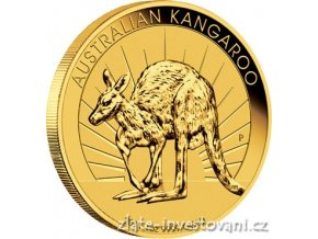 3533 investicni zlata mince australsky klokan 2011 nugget 1 oz