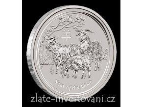 3551 investicni stribrna mince rok kozy 2015 1 kg