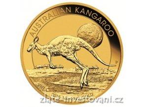 3620 investicni zlata mince australsky klokan 2015 nugget 1 oz