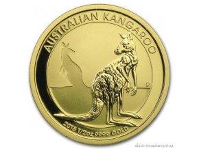 3626 investicni zlata mince australsky klokan nugget 2014 1 2 oz