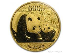 3653 investicni zlata mince cinska panda 2011 1 oz