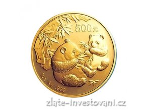 3662 investicni zlata mince cinska panda 2006 1 oz