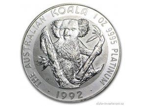3665 platinova mince australsky koala 1 oz
