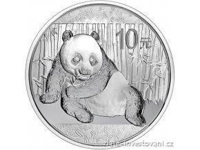 3755 investicni stribrna mince panda 2015 1 oz