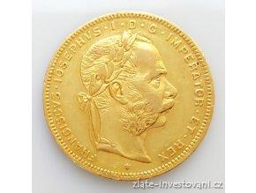 3767 zlata mince osmizlatnik frantiska josefa i rakouska razba 1875