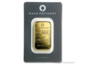 Investiční zlatý slitek Rand SA-Jižní Afrika