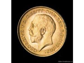 3911 investicni zlata mince britsky pul sovereign george v