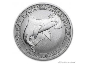 3983 investicni stribrna mince kladivoun 2015 australie 1 2 oz