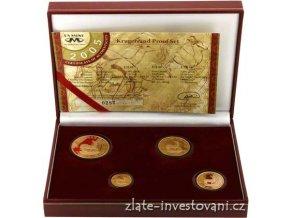 4037 zlaty set krugerrand frakce 4 mince