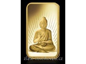 Investiční zlatá cihla Budha-PAMP Švýcarsko 1 Oz