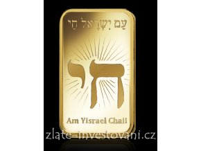 4067 investicni zlata cihla izrael pamp 1 oz