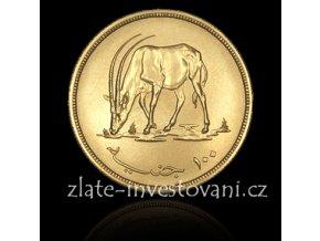 4073 zlata mince antilopa oryx 1976 sudan