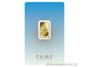 Investiční zlatý slitek Lakšmí-PAMP 5g