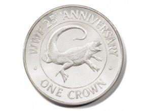 Iguana 1988-Turks and Caicos 1 Oz