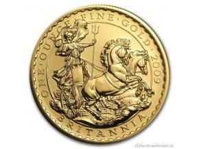 4136 investicni zlata mince britannia 2009 1 oz