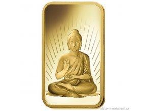 Investiční zlatá cihla Budha-PAMP Švýcarsko 5g