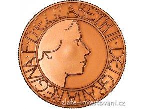 4148 zlata britska petilibra 50 vyroci kralovani alzbety 2003