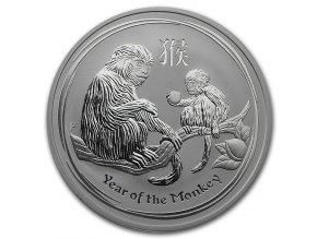 Investiční stříbrná mince rok Opice 2016 1 Kg