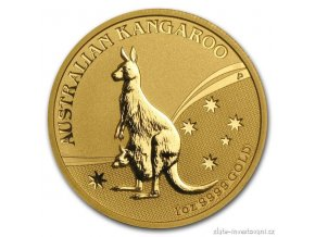 4259 investicni zlata mince australsky klokan 2009 nugget 1 oz