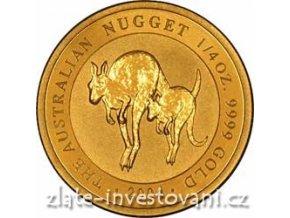 4298 investicni zlata mince australian kangaroo 2004 1 4 oz