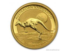 4304 investicni zlata mince australsky klokan nugget 2015 1 10 oz
