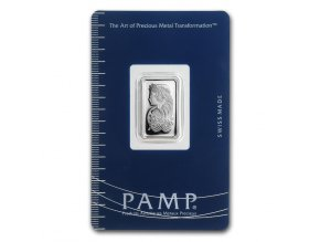 Investiční stříbrný slitek PAMP Fortuna 5g