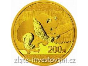 4337 investicni zlata mince cinska panda 2016 15g