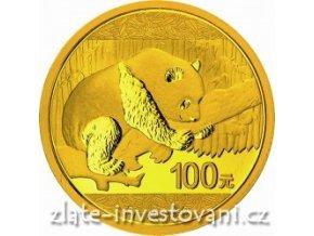 4340 investicni zlata mince cinska panda 2016 8g