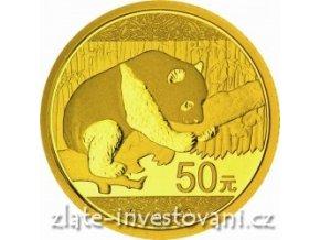 4343 investicni zlata mince cinska panda 2016 3g
