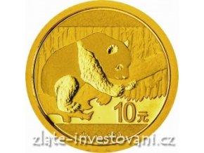 4346 investicni zlata panda 2016 1g