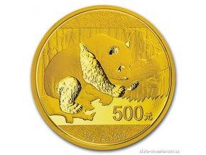4361 investicni zlata mince cinska panda 2016 30g