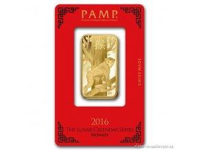 4400 investicni zlata cihla rok opice 2016 pamp 100g