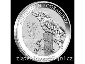 Investiční stříbrná mince australský Kookaburra 2016 1 Kg