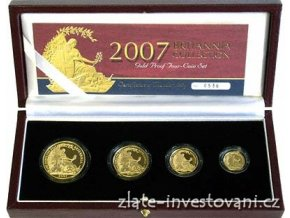 4517 investicni set britannia 2007 4 mince proof