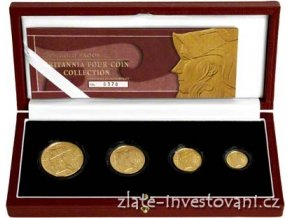 4520 investicni set britannia 2003 4 mince proof