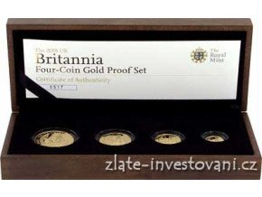 4523 investicni set britannia 2008 4 mince proof