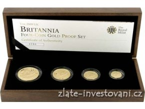 4526 investicni set britannia 2009 4 mince proof