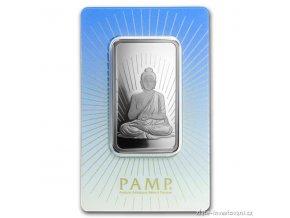Investiční stříbrný slitek Budha-PAMP 1 Oz